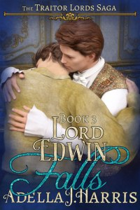 cover of Lord Edwin Falls by Adella J. Harrris