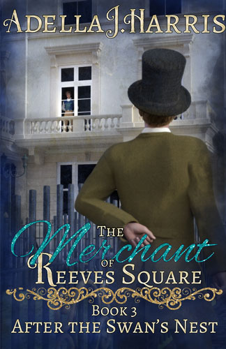 cover of The Merchant of Reeves Square by Adella J. Harris