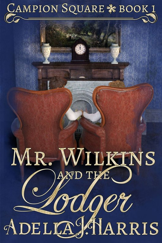 cover of Mr. Wilkins and the Lodger by Adella J. Harris