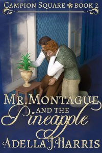 cover of Mr. Montague and the Pineapple by Adella J. Harrris