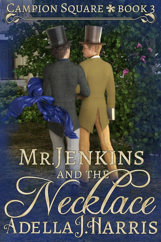 cover of Mr. Jenkins and the Necklace by Adella J. Harris